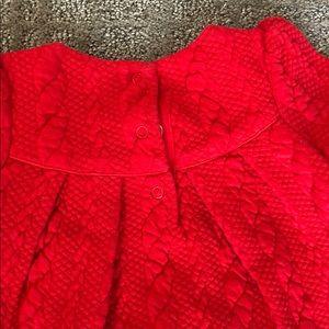 Janie and Jack Dresses - Janie and Jack Red Dress, Sz 6-12 months